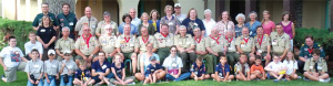 Participants and Families at the MCCS 2011 Scouting in Churches of Christ at Philmont.