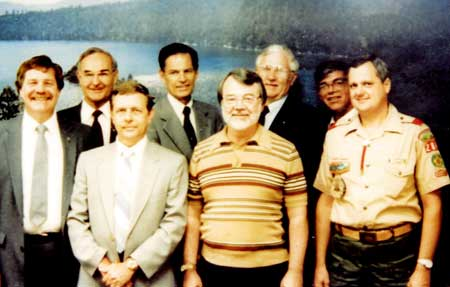Don McClaugherty, Lowell Johnson, Lawrence Ray Smith, Gayle Reams, Charlie Marler, John Clardy (deceased), Jim Swafford (deceased) and Ralph Wallace comprised the founding MCCS Board of Trustees