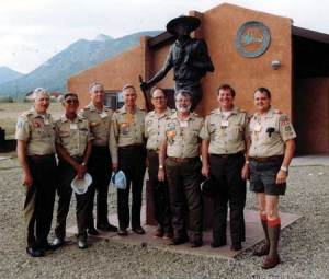 John Clardy (deceased), Jim Swafford (deceased), Gene Linder, Glen Johnson, Bobbie Lee Wolfe, Charlie Marler, Don McClaugherty and Ralph Wallace were the first MCCS members to attend Philmont in 1988
